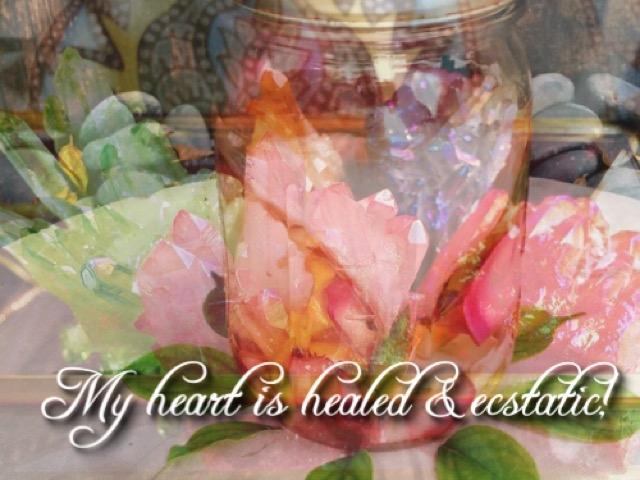heart break healing essential oil