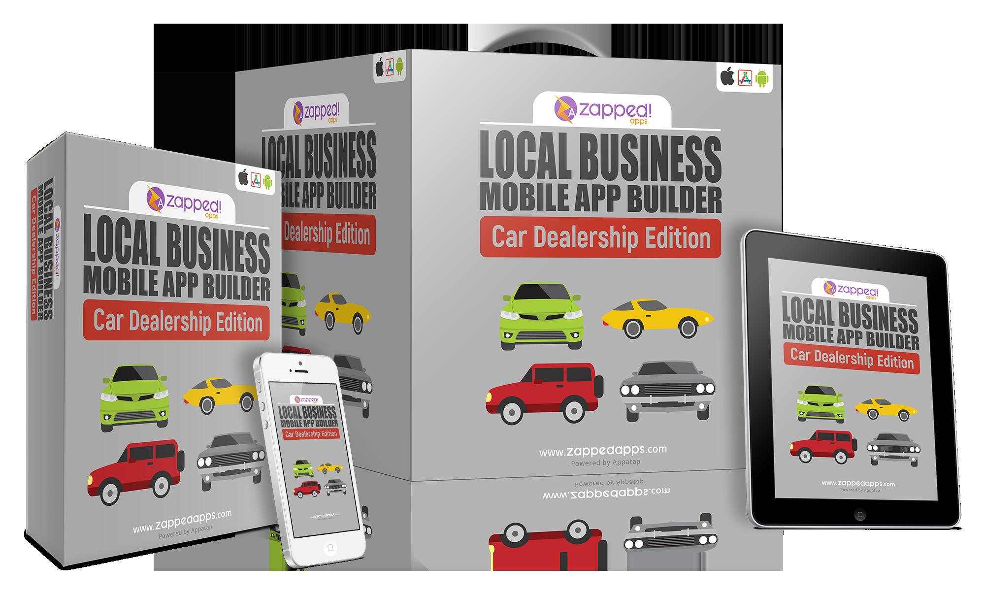 Local Biz Mobile App Builder Car Dealership Edition Ian del