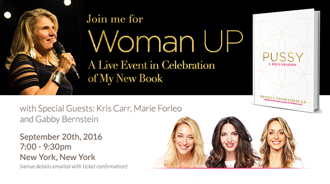 Woman Up: A Live Event in Celebration of My New Book