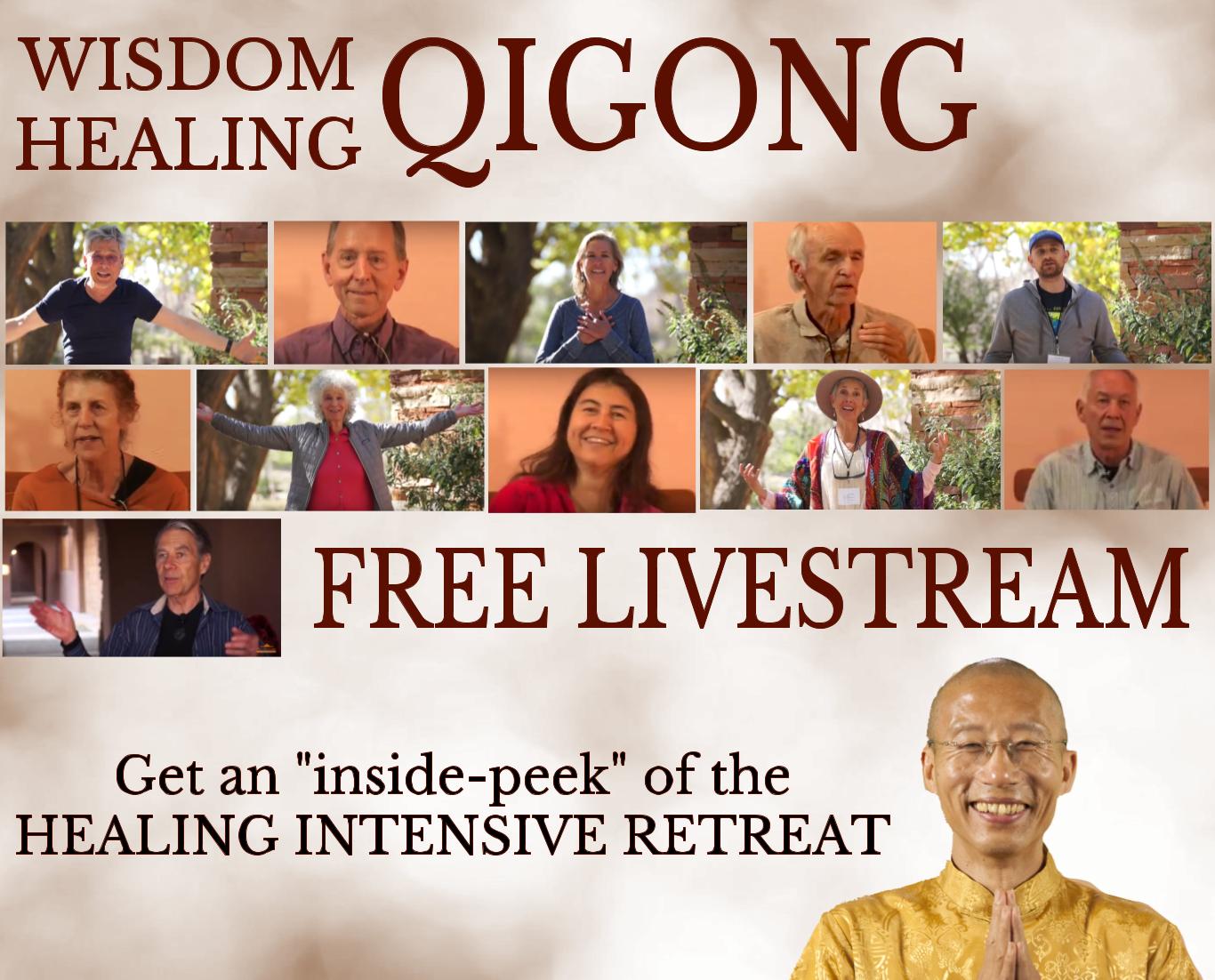 FREE Livestream HIR   The Chi Center   Master Mingtong Gu