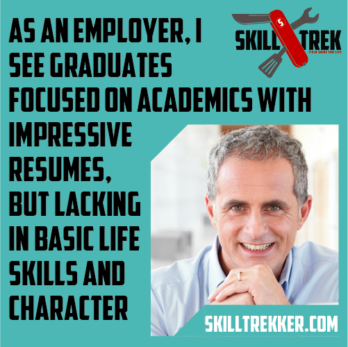 Skill Trek teaches life skills and well behaved children