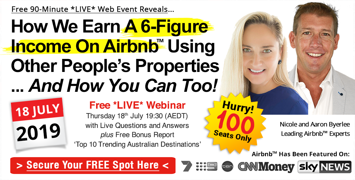 FREE 90-Minute LIVE Airbnb Training Event