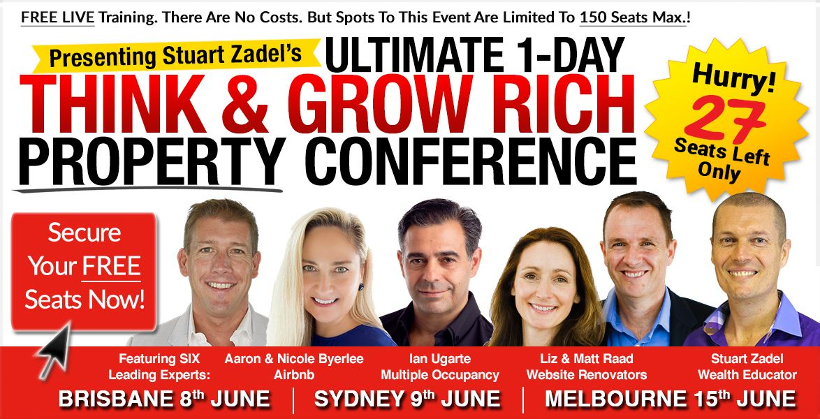 FREE 1-Day LIVE Property Training Event