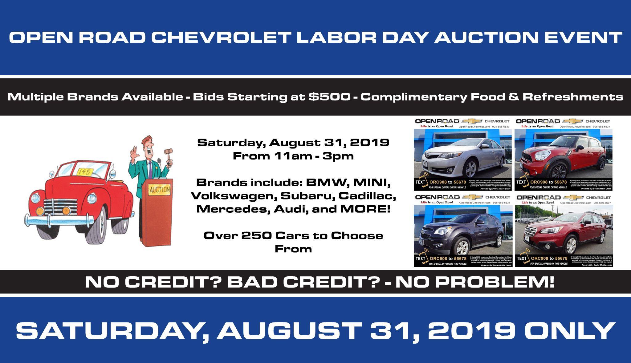 Chevrolet Dealer in Union, NJ | Used Cars Union | Open Road
