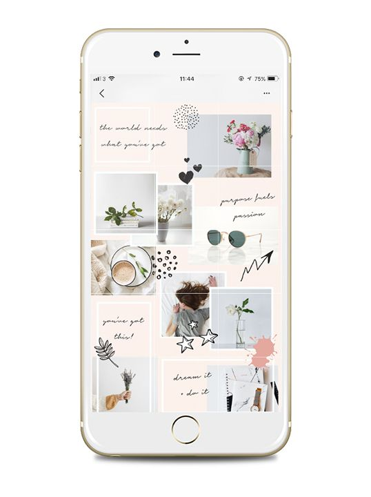 Instagram Puzzle Feed Template In Canva Steph Taylor