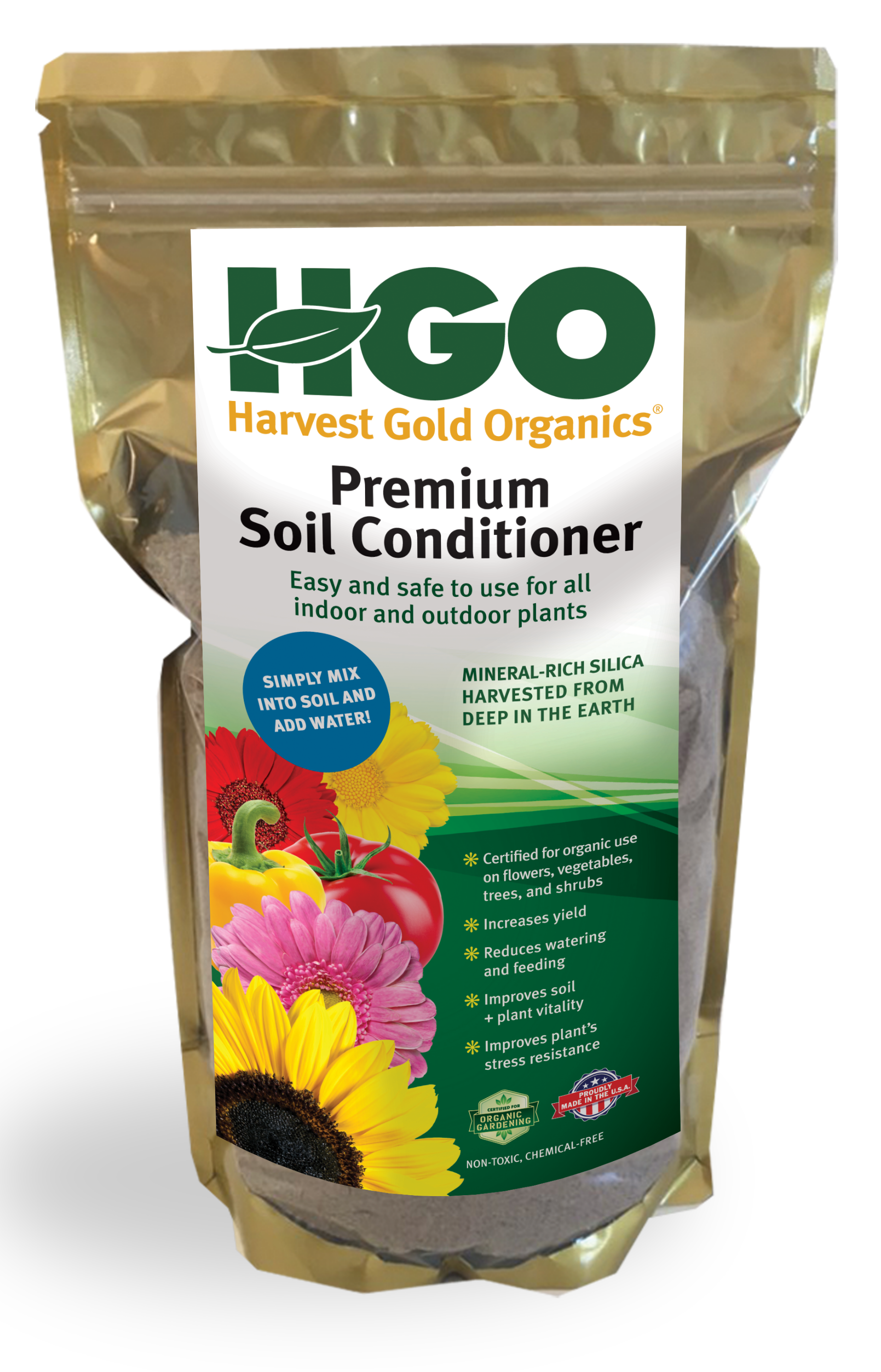 Harvest Gold Organics   Bring Out The Best In Your Organic Garden