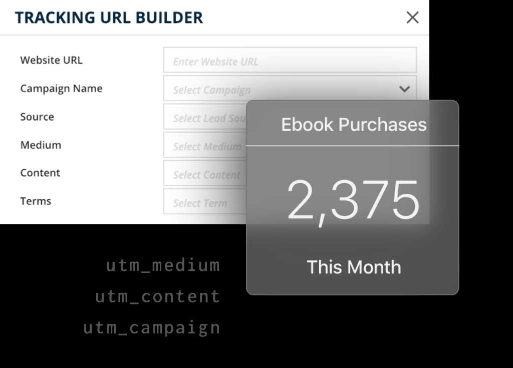 Use UTM Variables to segment and identify exactly which marketing campaigns are working well.