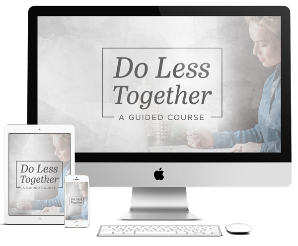 Product Image of Do Less Together