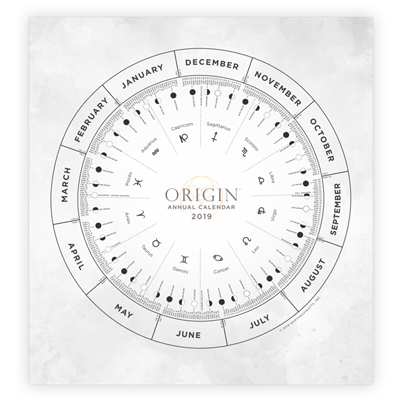 Origin Lunar Calendar