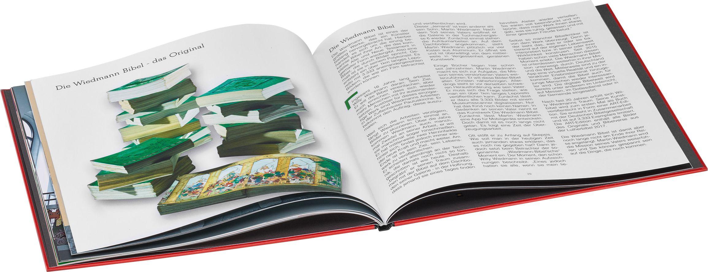 The Wiedmann Bible - Press Photos and Multimedia